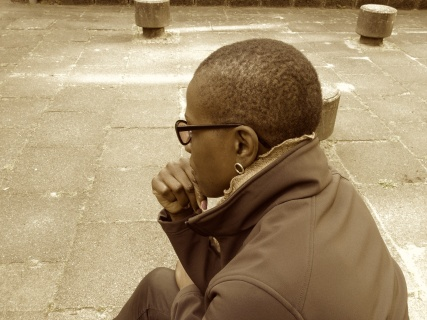 JBS thinking in Berlin b:w