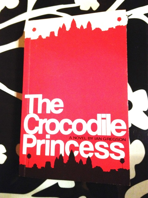 Ian Gregson THE CROCODILE PRINCESS book cover